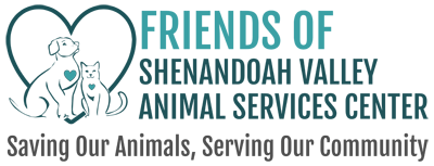 Friends of Shenandoah Valley Animal Services Center where we are saving our animals and serving our community